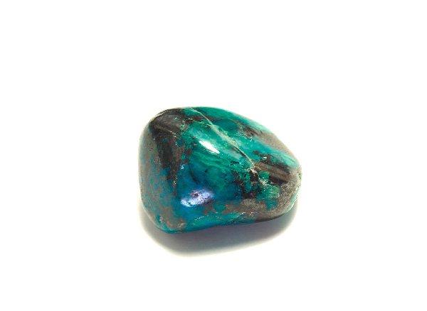 原石<br>クリソコラのタンブル<br>ペルー産