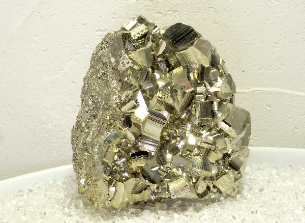 原石<br>パイライト(黄鉄鉱)のハート<br>ペルー・リベルタ産