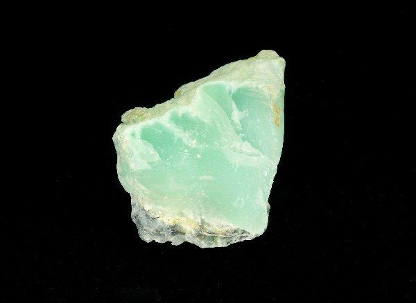 原石<br>クリソプレーズの原石<br>ブラジル・ゴイアス州ニケランディア産