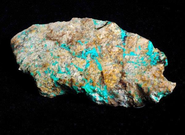 原石<br>クリソコラの原石プレート<br>アリゾナ産