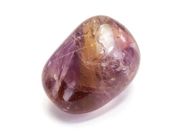 原石<br>レインボーアメトリンのタンブル<br>ボリビア産