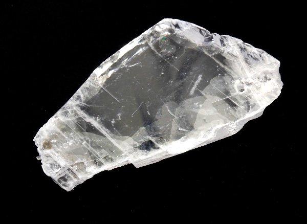 原石<br>セレナイト(聖母マリアのガラス)の結晶<br>ブラジル・リオ・グランデ・ド・スール州イラニ産