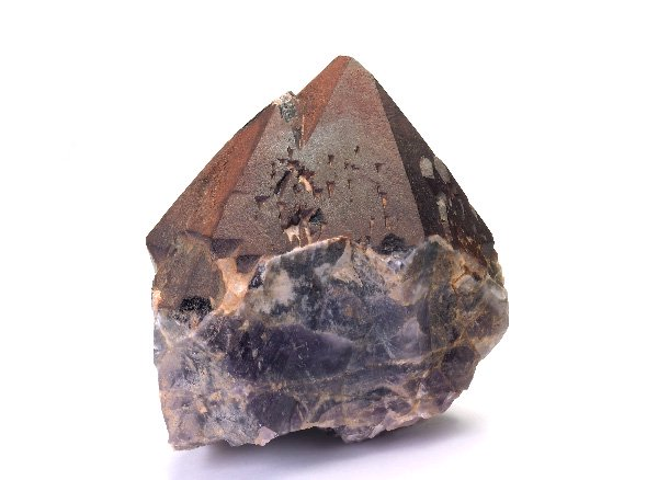 原石<br>レッドキャップオーラライト23(トライゴーニック入り)のポイント<br>カナダ不思議の洞窟(cave of wonders)産
