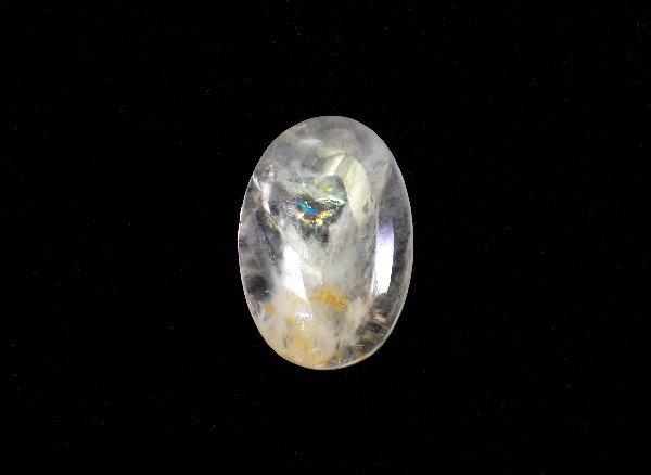 稀少原石<br>透明感のあるフェナサイト(フェナカイトのルース)<BR>ブラジル・ミナスジェライス州ピラシカバ産