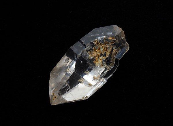 原石<BR>水入り水晶のポイント<BR>ブラジル・ミナスジェライス州