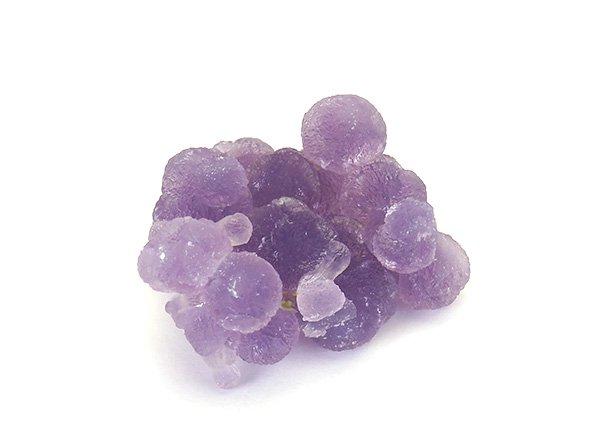 原石<BR>グレープカルセドニーの結晶<br>西スラウェシ州マムジュ産