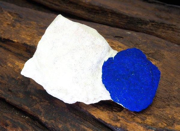 原石<br>アズライトサン<br>オーストラリア・マルバンガー産