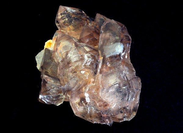 メチャカッコイイ原石<BR>スモーキーカテドラルジャカレーエレスチャルクォーツのポイント(水入り)<BR>ブラジル・ミナスジェライス州・アラスアイ産
