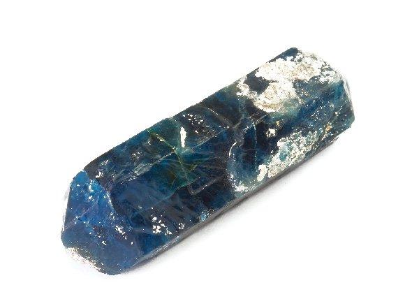 希少原石<br>ブルーグリーンアパタイトのダブルポイント<br>ブラジル・バイーア州カピン・グロッソ産
