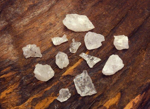 超稀少原石<br>フェナサイト(フェナカイト)のミニ原石12個セット<BR>ブラジル・ミナスジェライス州ピラシカバ産