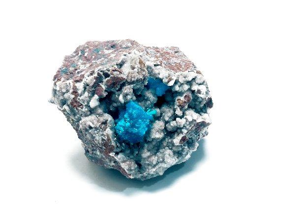 原石<br>カバンサイトの結晶体<br>インド・プーナ・ワゴリ村産