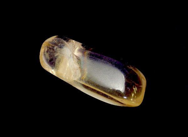 原石<br>ゴールデンイエローラブラドライトのタンブル<br>メキシコ チワワ州産