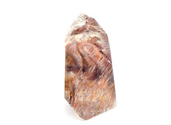 原石<br>美しすぎるガーデンエレスチャルクォーツのポイント<BR>ブラジル・ミナスジェライス州・イチンガ産