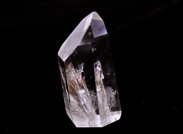 原石<BR>プラチナルチルのポイント<BR>ブラジル ミナスジェライス州 コリント産