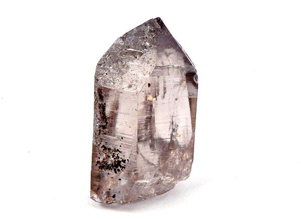 ガウリシャンカールの希少原石<BR>スモーキー・クォーツのポイント<BR>ネパール・ガウリシャンカール産
