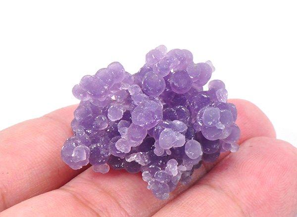 原石<BR>グレープカルセドニーSAの結晶<br>西スラウェシ州マムジュ産