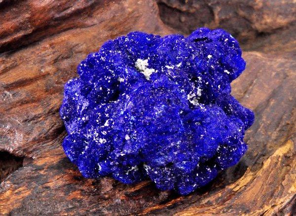 希少原石<br>アズライトの結晶原石<br>ロシア・アルタイ地方・ルプツォフスク産
