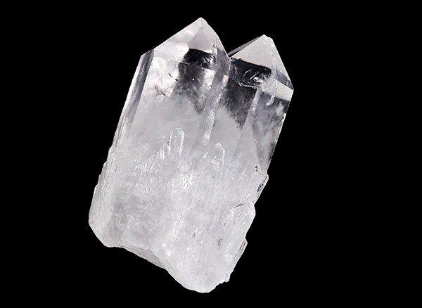 原石<br>ダブルキャンドルファントムツインクォーツのポイント<br>マダガスカル産