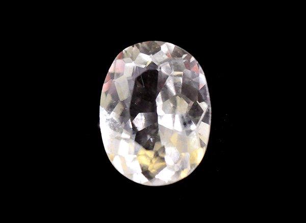 美しすぎる宝石質<br>フェナサイト(フェナカイト)SA オーバル ブリリアントカットのルース約0.86ctカラット<BR>マダガスカル産