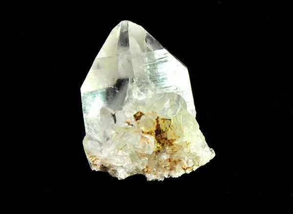 ★希少原石<br>美しすぎるヒマラヤ水晶のポイント<br>インド プラデーシュ州 クル地区 ガルサ渓谷 マニハール産
