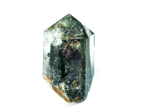 原石<br>美しすぎるガーデンクォーツのポイント<BR>ブラジル・ミナスジェライス州・コリント産