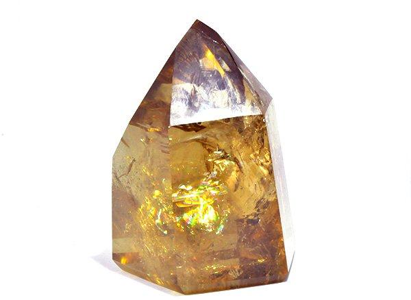 原石<br>美しすぎる天然色レインボーシトリンSAのポイント<BR>ブラジル ミナスジェライス州 イチンガ産