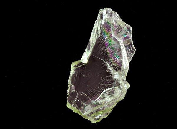 原石<br>美しすぎるレインボーヒデナイトの原石<br>ブラジル・ミナスジェライス州サリナス産