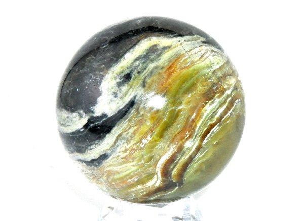 希少原石<BR>美しく幻想的なピーターサイトのスフィア<br><BR>アメリカ・アリゾナ産