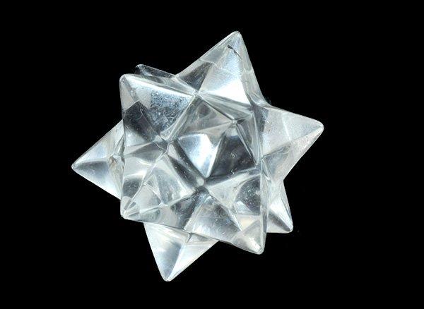 小星型十二面体アステロイド<br>クリスタル水晶<br>ブラジル・ミナスジェライス州産