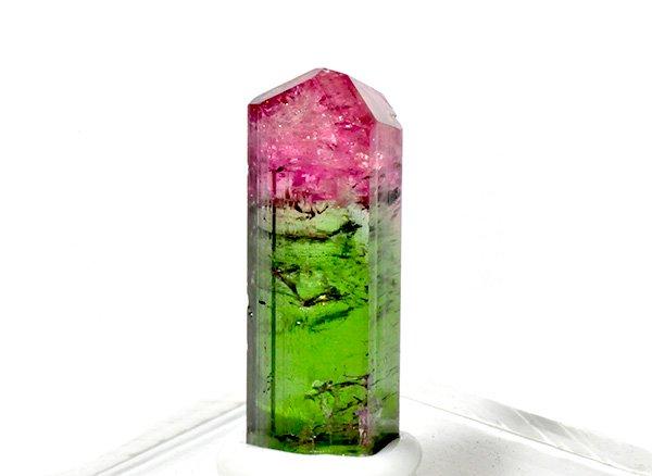 希少結晶リップスティック!!<BR>ウォーターメロントルマリンSAの結晶<br>アフガニスタン産