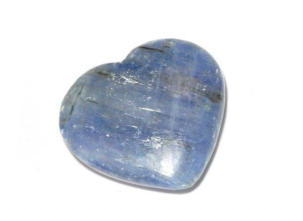 原石<br>カイヤナイトのハート<br>ブラジル・ミナスジェライス州ヴィルジェン・ダ・ラパ産
