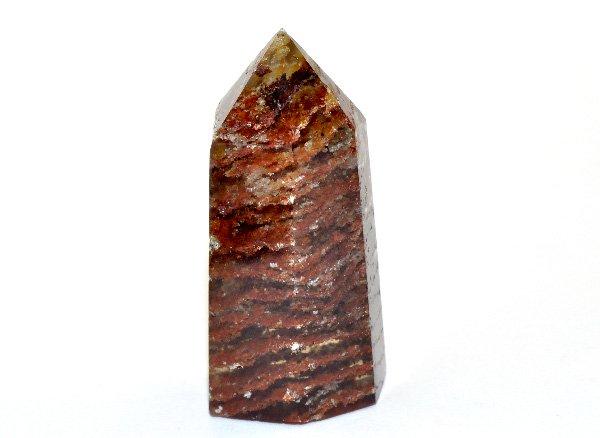 原石<br>ガーデンドラゴンファントム(龍脈水晶)のポイント<BR>ブラジル・ミナスジェライス州・クルベロ トマスゴンサガ産