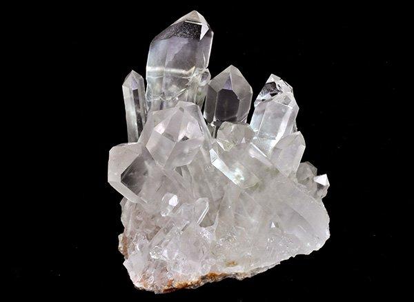 原石<br>美しすぎるセプター付シャンパンカラーの水晶クラスター<br>USA・ワシントン州・グリーンリッジ産