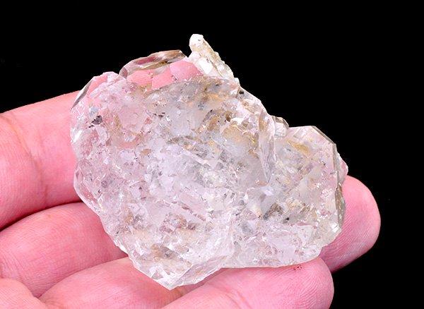 希少原石<br>まるで氷のように美しすぎるカラーレスフローライト結晶<br>ロシア・ダルネゴルスク産