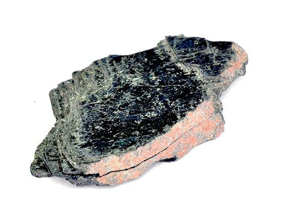 原石<BR>ヴィヴィアナイト(ビビアナイト)の結晶原石<BR>ボリビア・ポトシ産