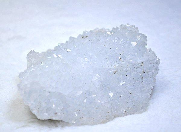 アジャンタクォーツ<br>(天然レインボー水晶)クラスター