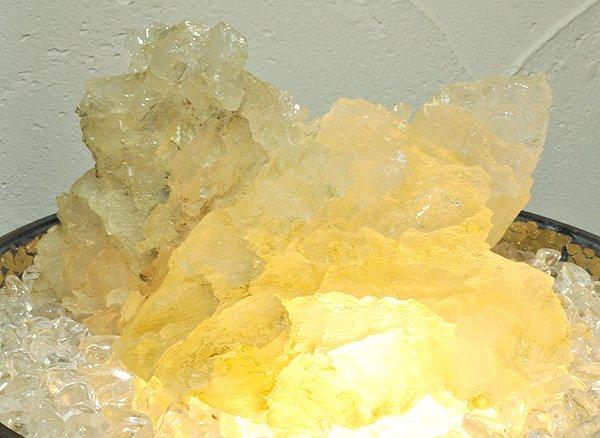 原石<br>ヒマラヤ・アイスクォーツの単結晶<br>パキスタン・スカルドゥ産