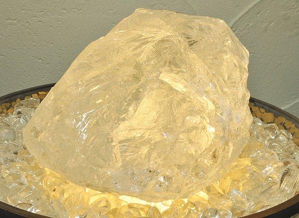 原石<br>ヒマラヤ・アイスクォーツの単結晶SA級<br>パキスタン・スカルドゥ産