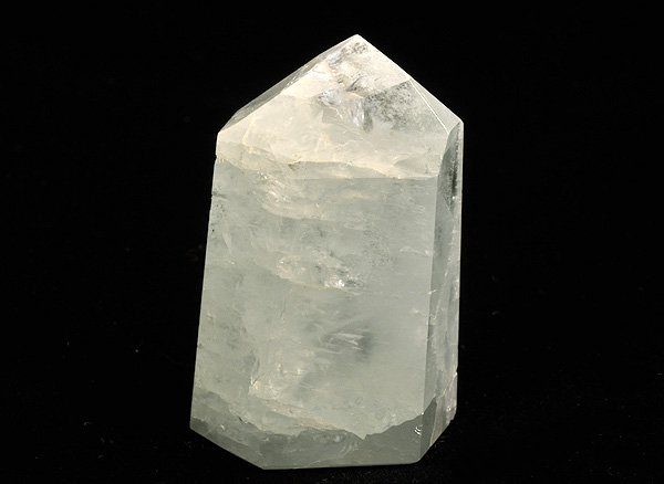 原石<br>アクアマリンのポイント<br>ブラジル・ミナスジェライス州・ガリレイア産