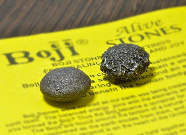 原石<br>ボージーストーンMサイズ<br> -男性石、女性石1ペア<br>アメリカ・カンザス州産
