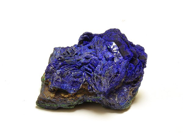 原石<br>アズライトの結晶<br>ザイール・シャバ産