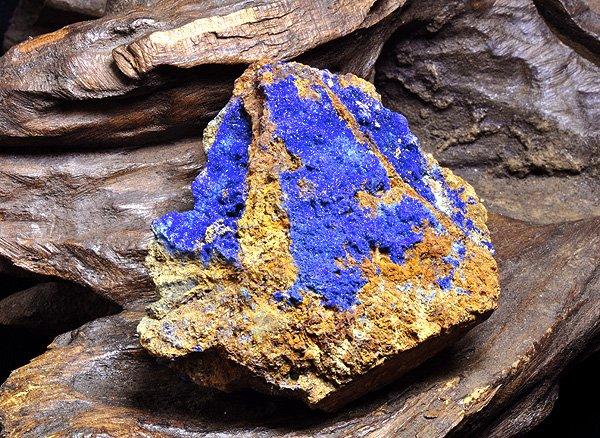 原石<br>アズライトの結晶<br>メキシコ産